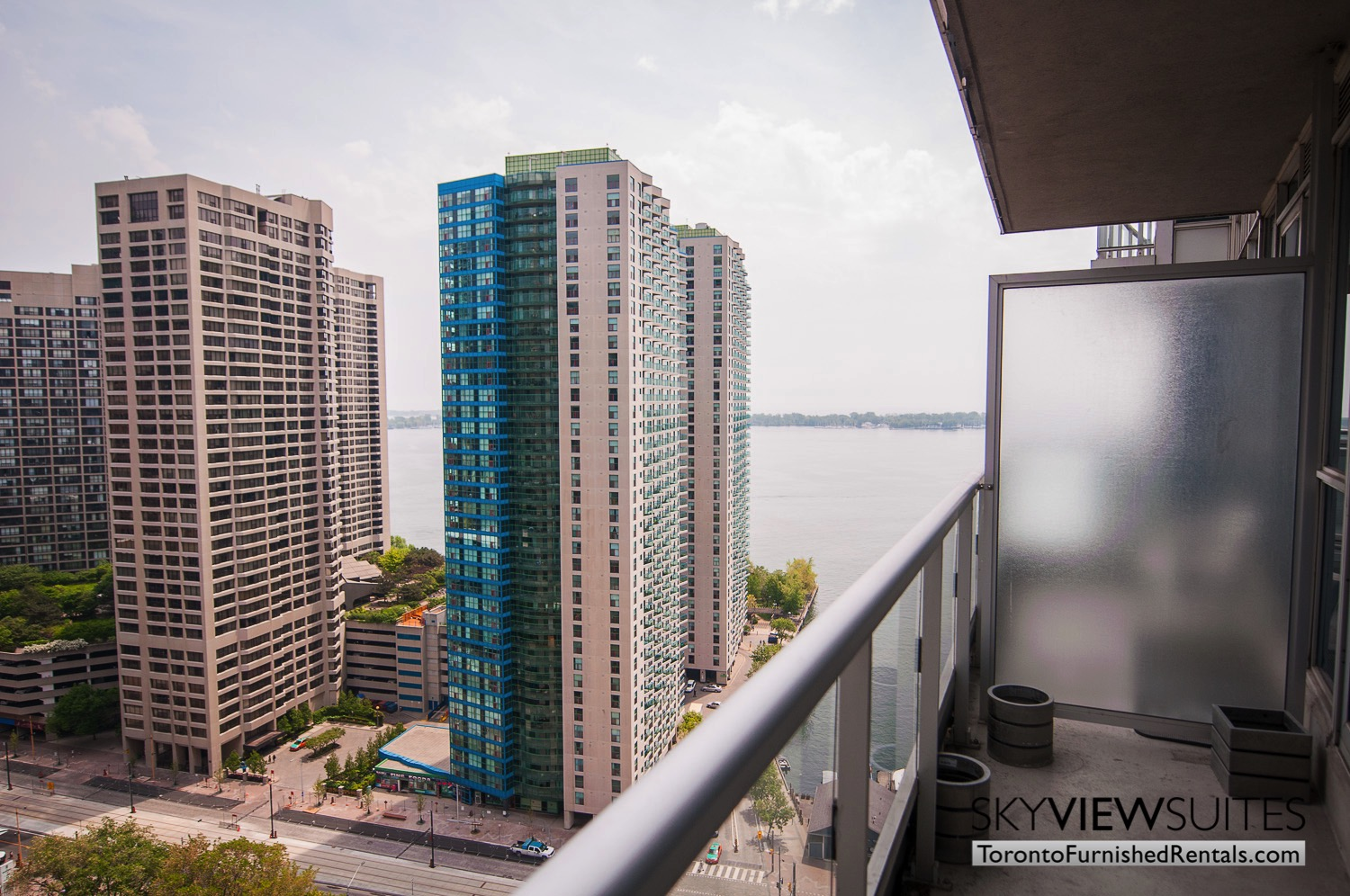furnished rentals toronto waterfront balcony