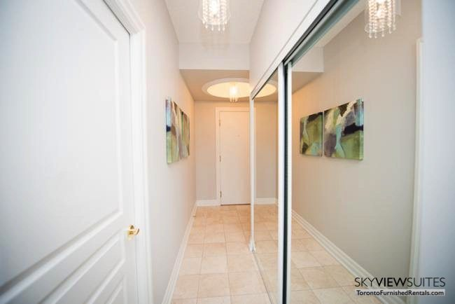 furnished rentals toronto lakeshore west front hall mirror
