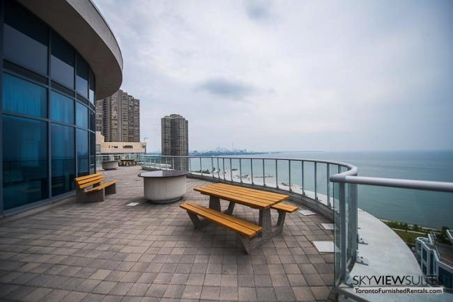 furnished rentals toronto lakeshore west patio