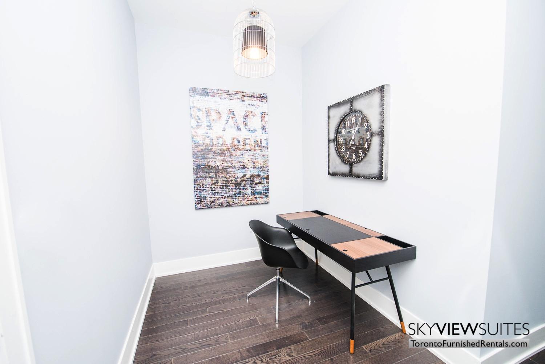 executive rentals toronto 39 Queens Quay den office