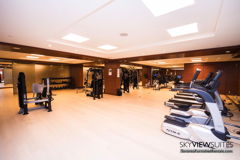 executive rentals toronto 39 Queens Quay fitness centre