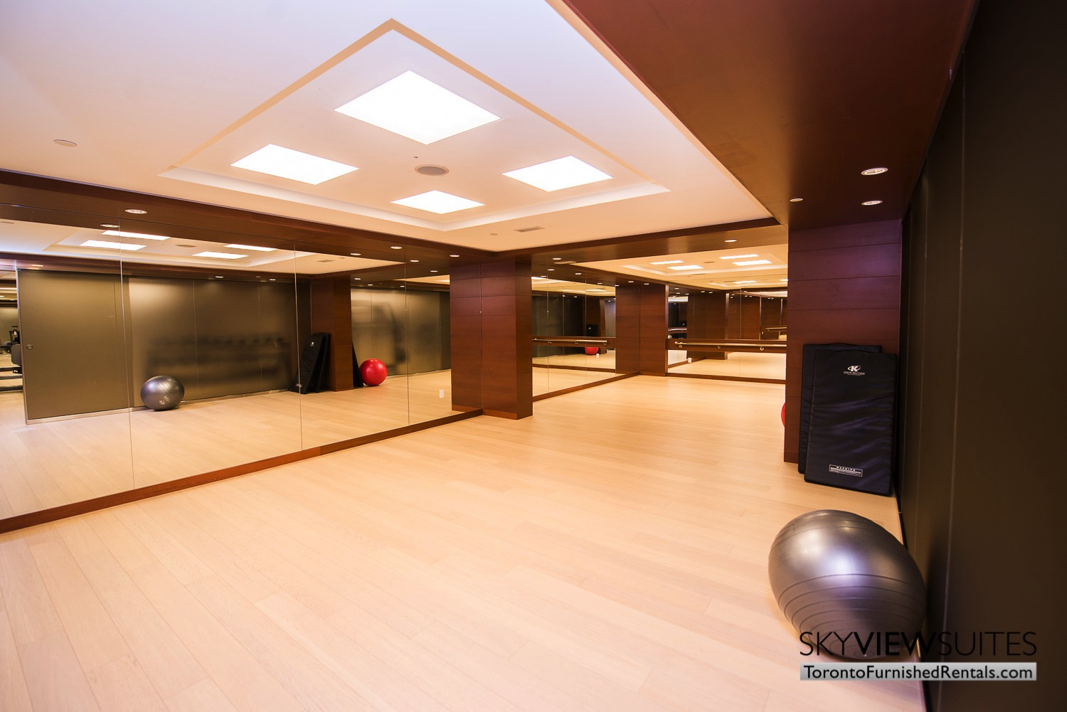 executive rentals toronto 39 Queens Quay fitness centre