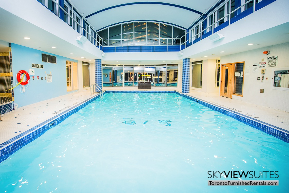 Yonge and Sheppard serviced apartments toronto indoor pool