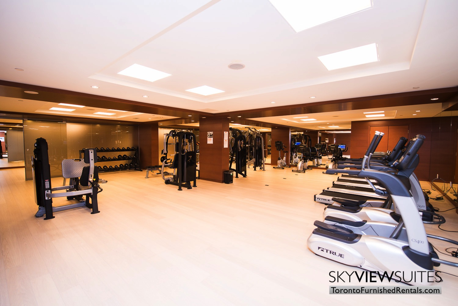 39 Queens Quay toronto corporate housing fitness centre