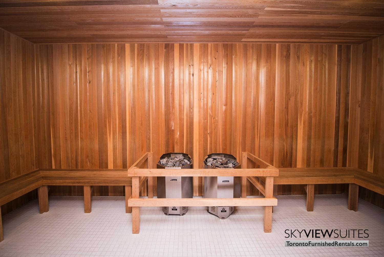 352 Front St. W., Toronto furnished rental sauna
