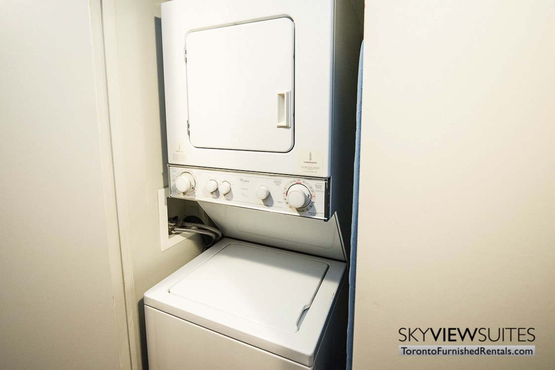 furnished suites toronto Colborne Street washing machine