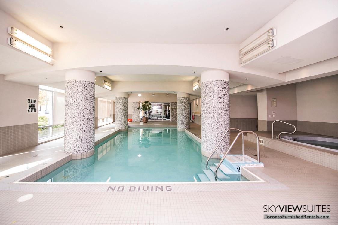 corporate rentals toronto Avondale pool