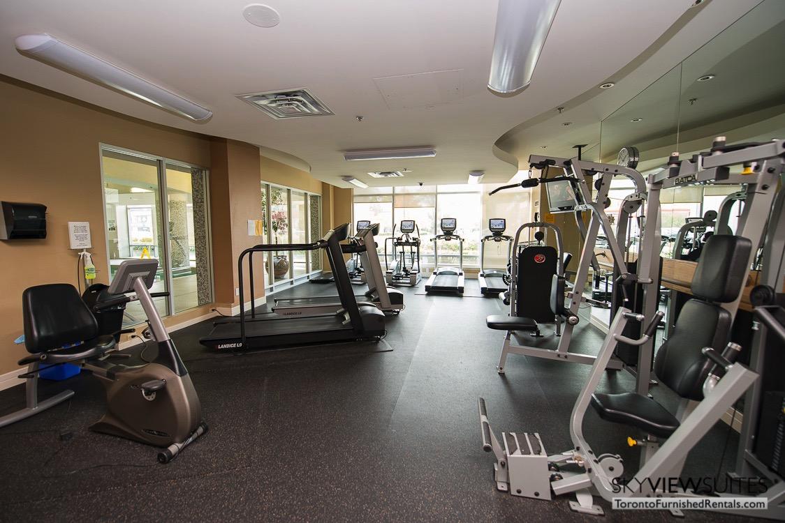 corporate rentals toronto Avondale gym