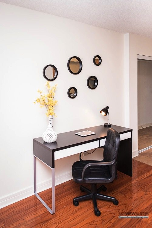 corporate rentals toronto Avondale desk
