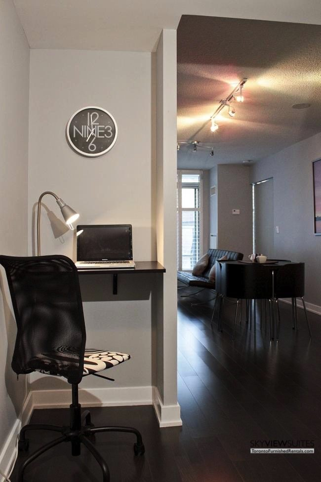 furnished apartments toronto boutique desk
