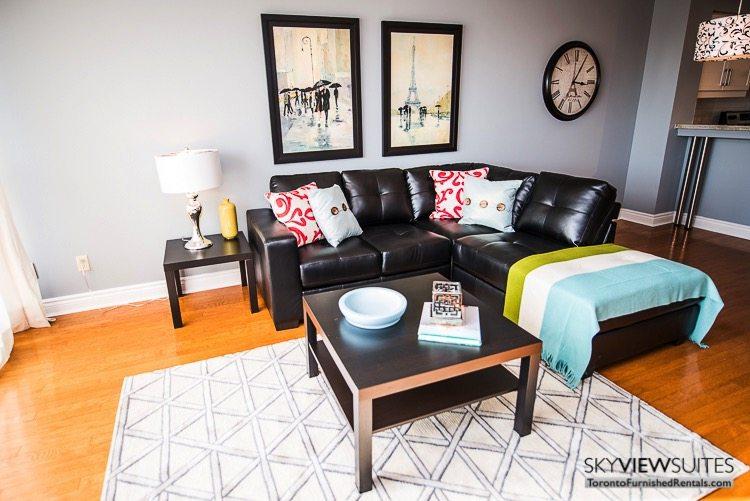 serviced apartments toronto marina del ray living room coffee table