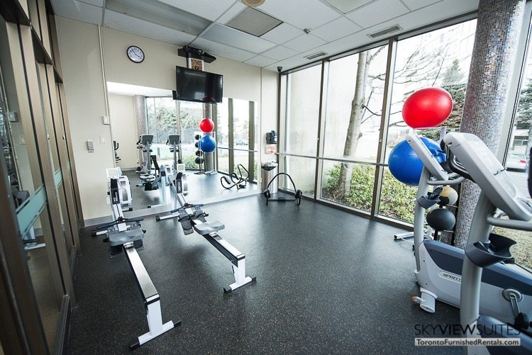 serviced apartments toronto marina del ray gym
