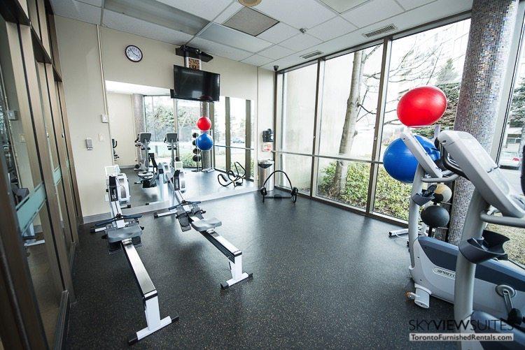 serviced apartments toronto marina del ray gym