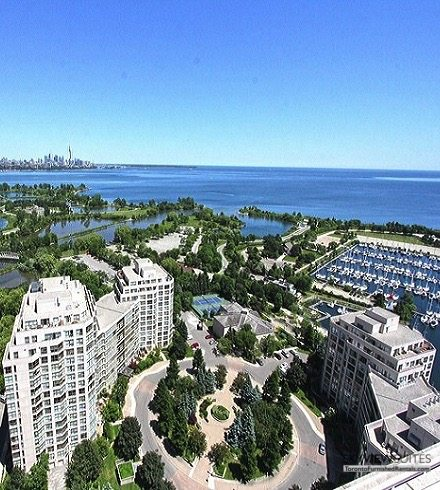 serviced apartments toronto marina del ray view of the lake
