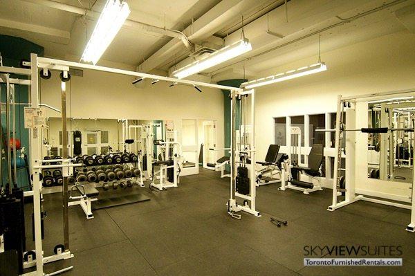 Church and Dundas toronto corporate housing gym