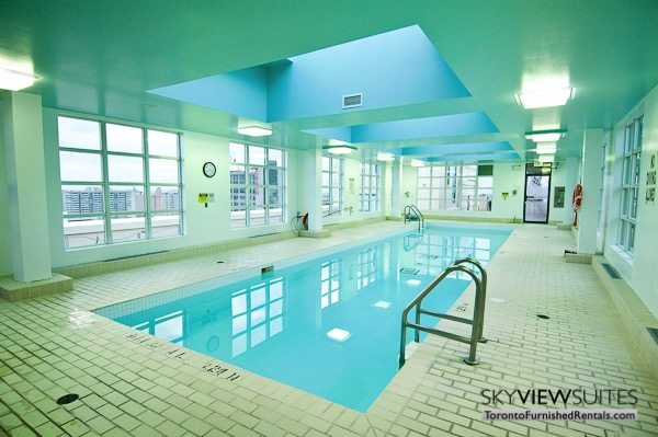 Church and Dundas toronto corporate housing indoor pool