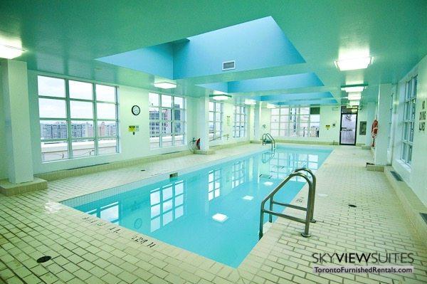 Church and Dundas toronto corporate housing indoor pool