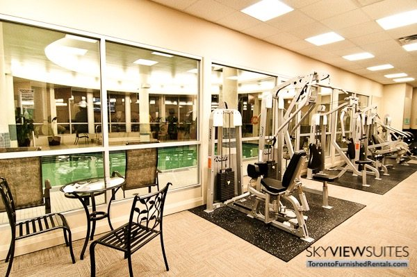 North York executive rentals Toronto fitness centre