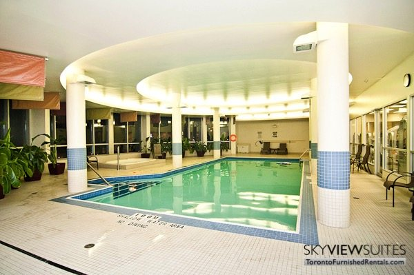 North York executive rentals Toronto indoor pool