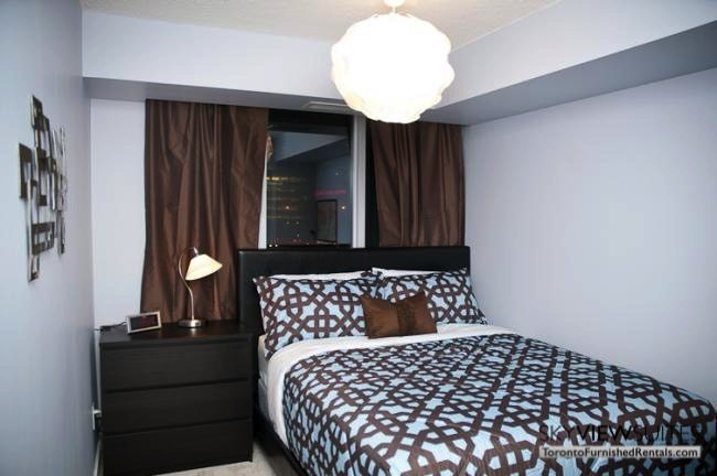 furnished suites toronto harbourfront bedroom