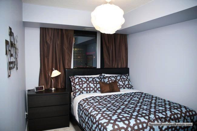 furnished suites toronto harbourfront bedroom