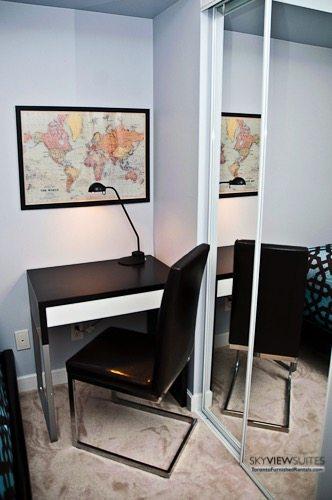 furnished suites toronto harbourfront desk