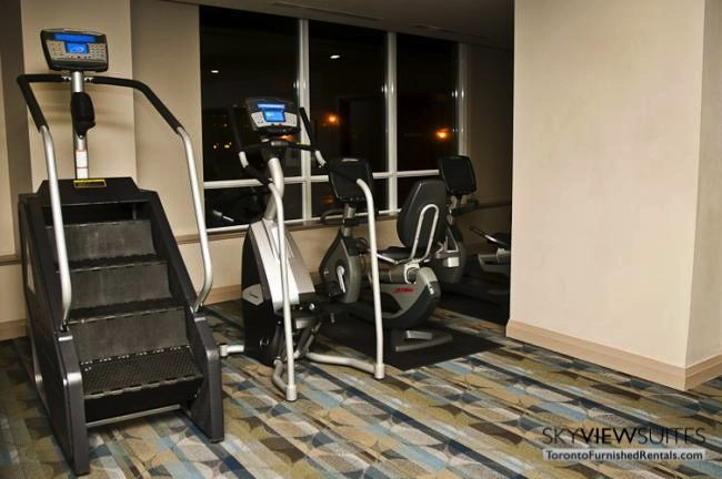 furnished suites toronto harbourfront fitness centre