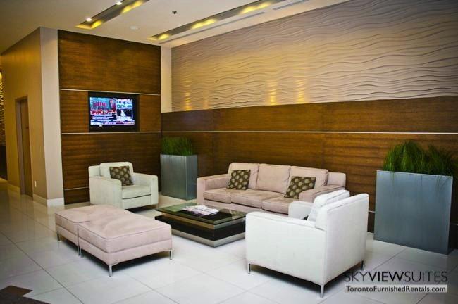 furnished suites toronto harbourfront foyer