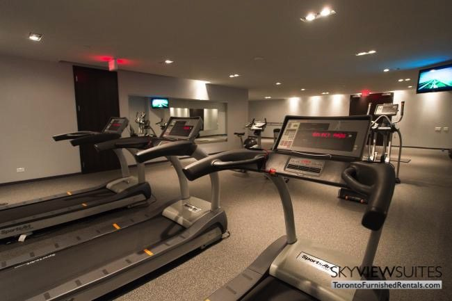 furnished apartments toronto portland gym