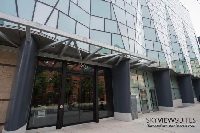 portland one bedroom furnished condo in king west