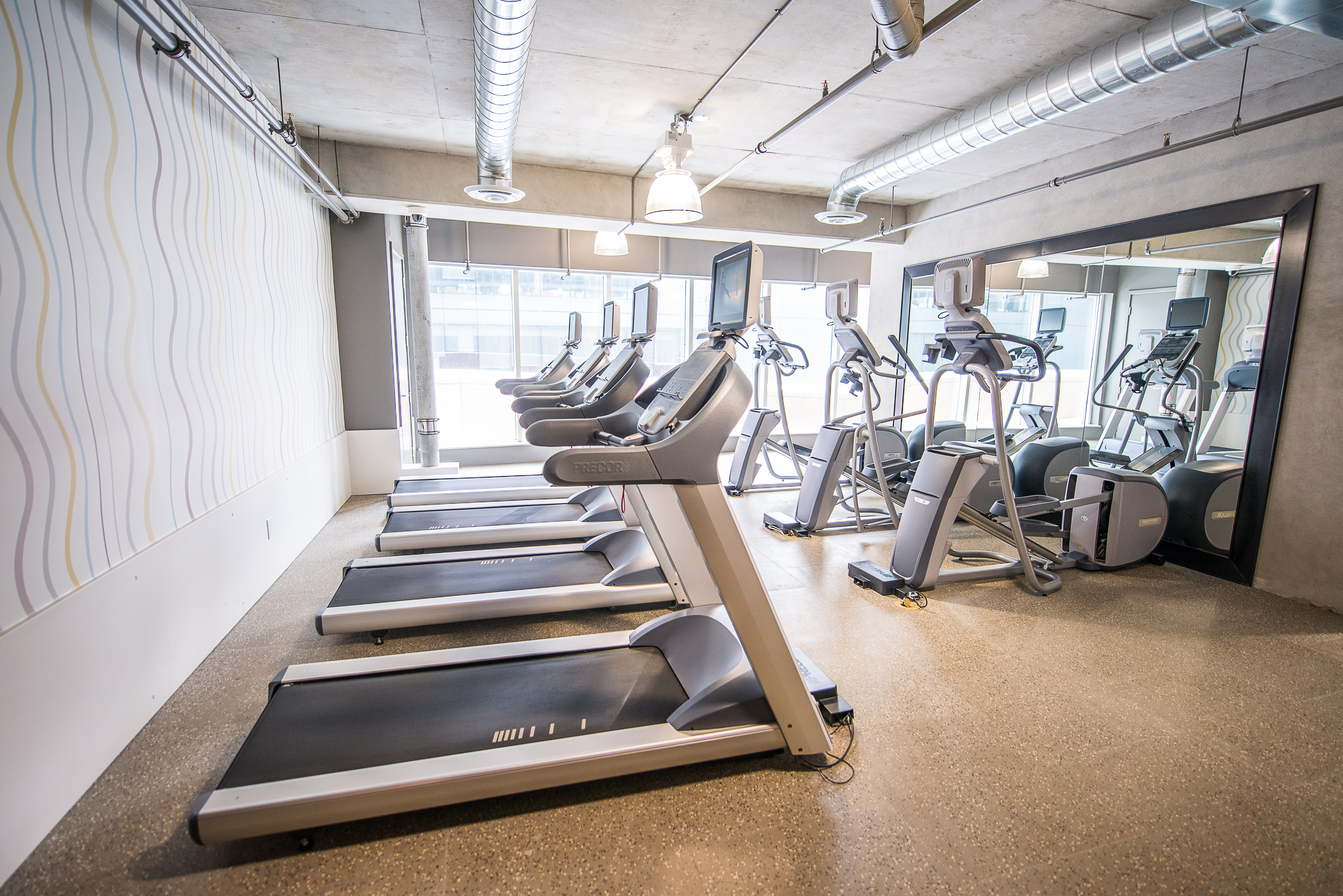 corporate rentals toronto king and john gym