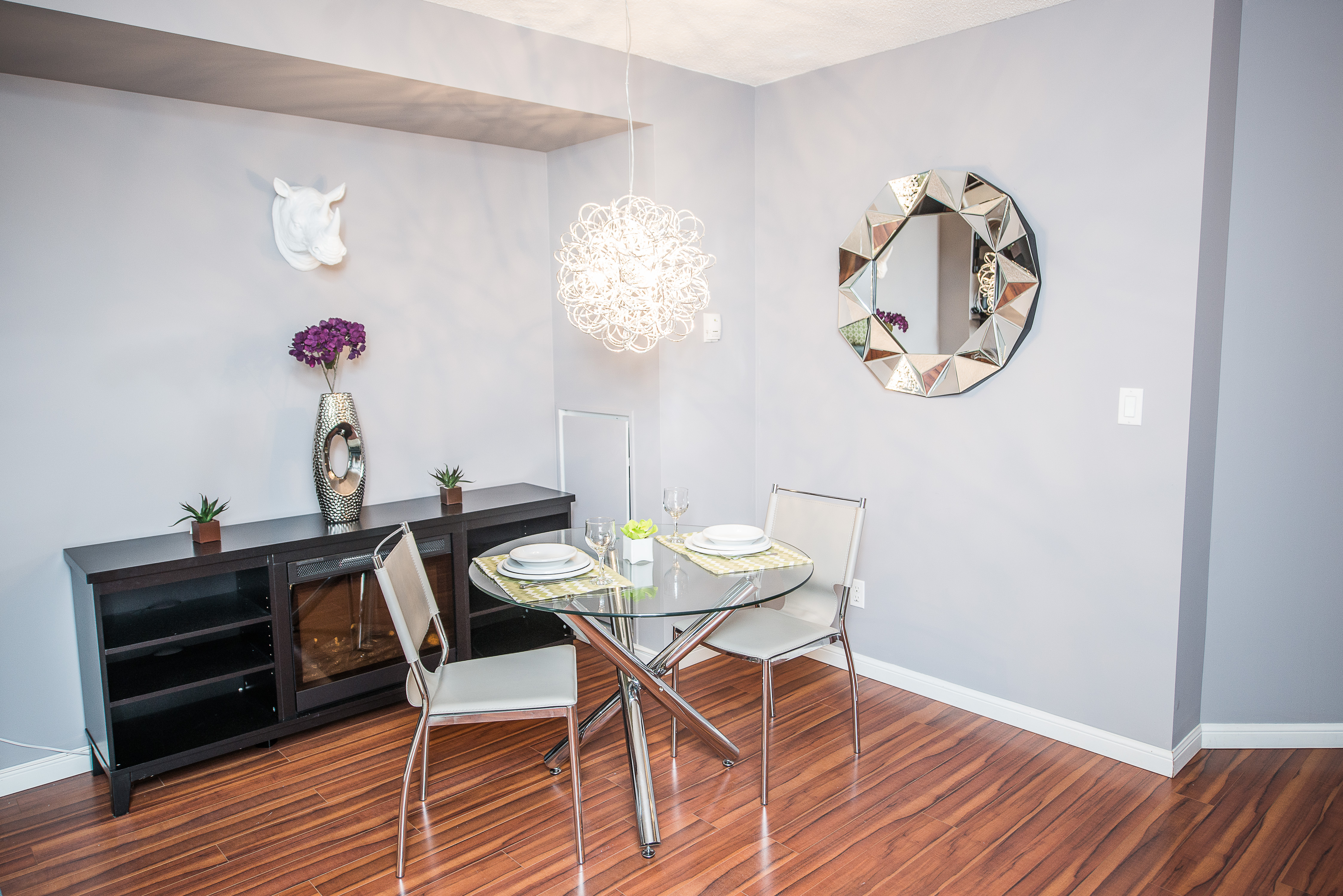 serviced apartments toronto financial district dining table and side table