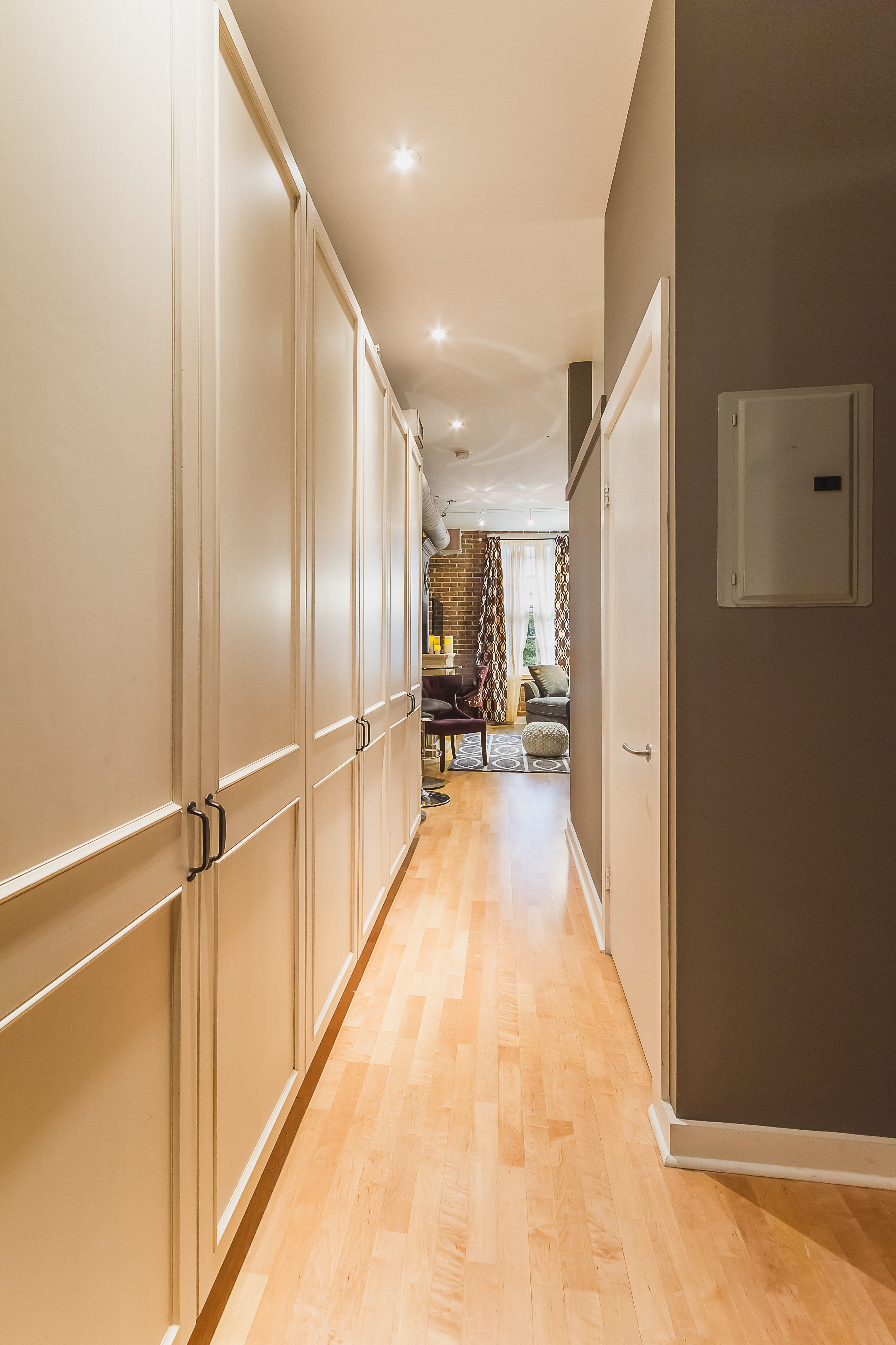 toronto st lawrence market front hall furnished apartment