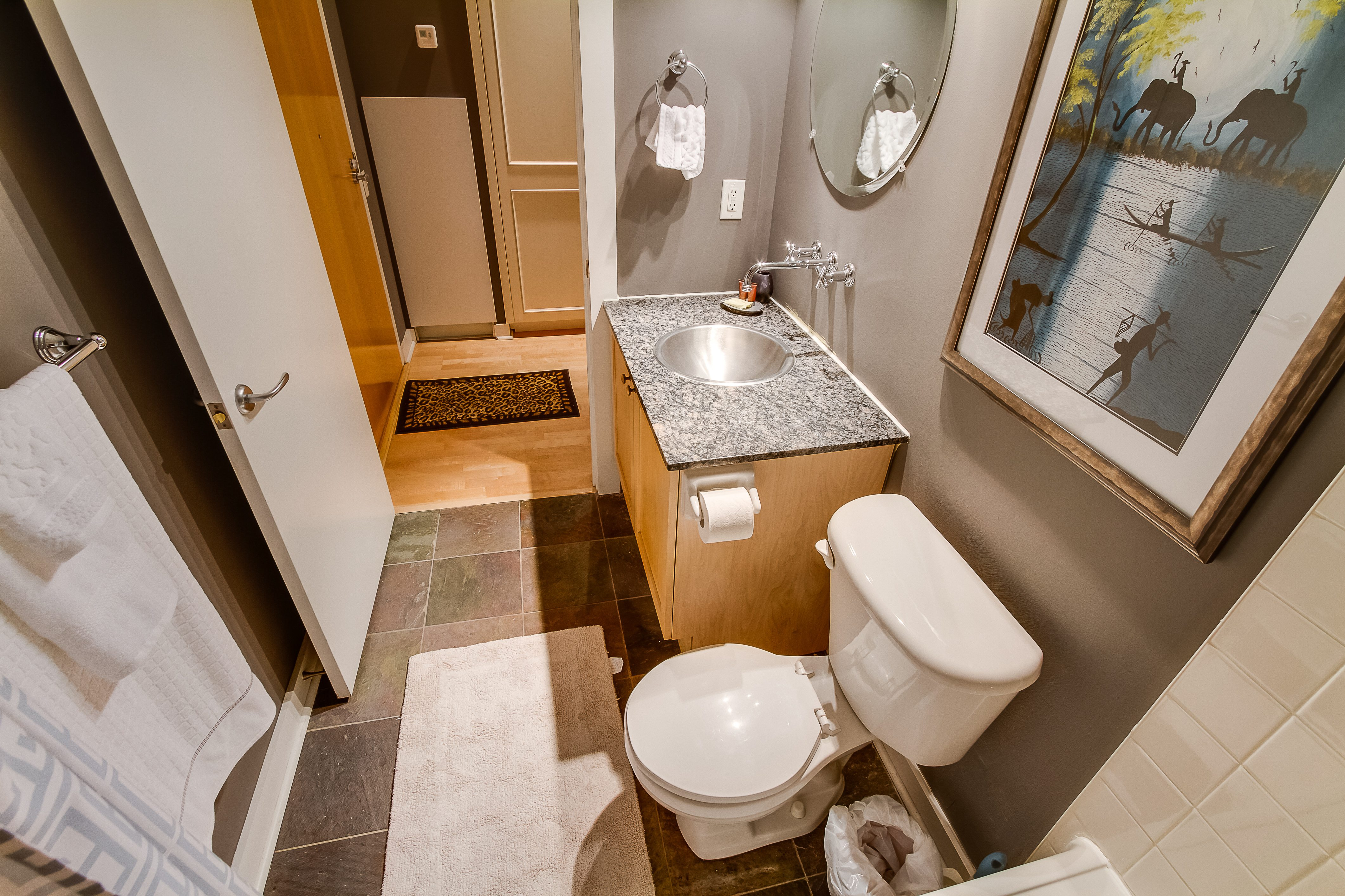 saint lawrence market furnished condo bathroom