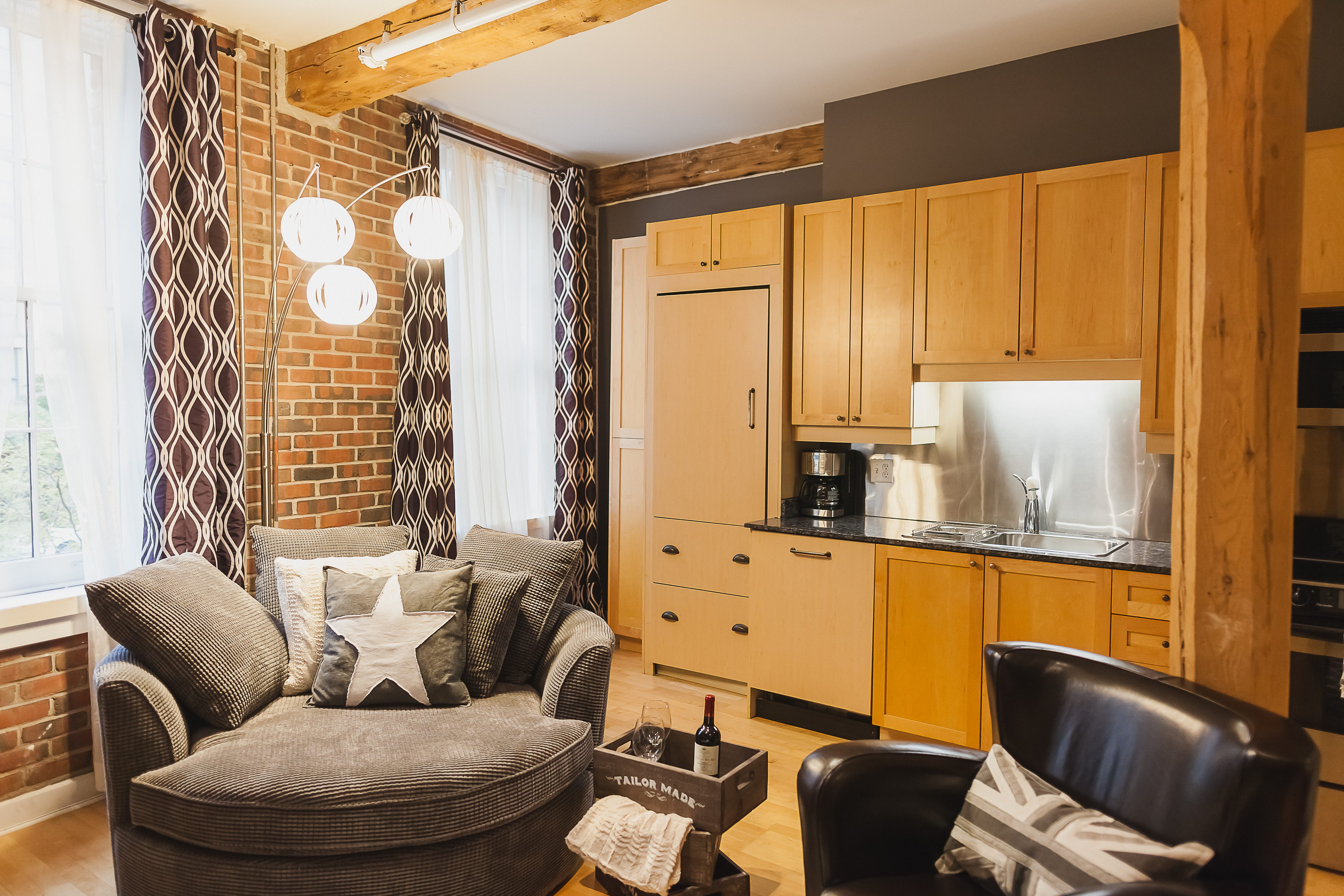 Saint Lawrence Furnished Apartment toronto kitchen