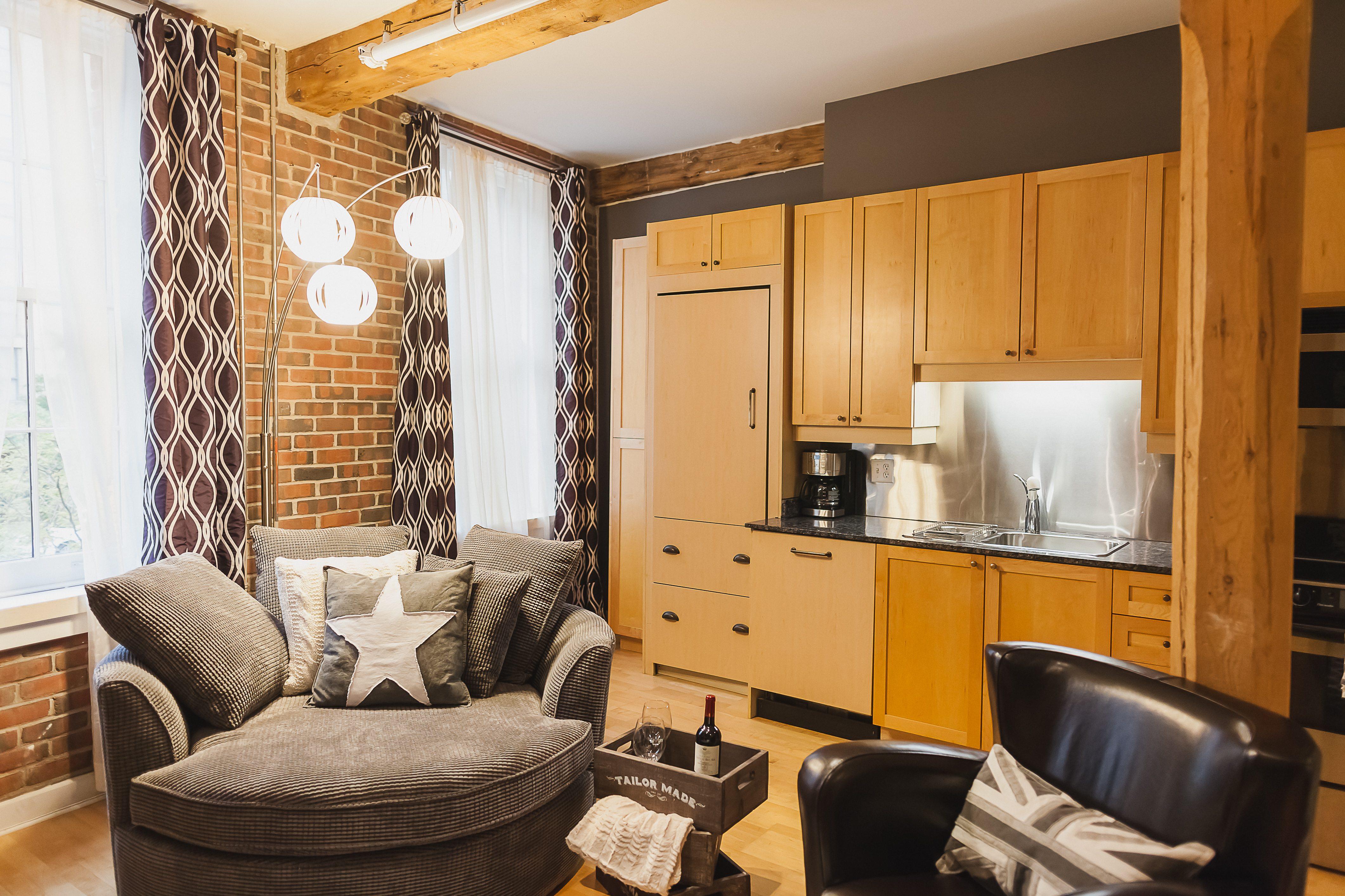 Saint Lawrence Furnished Apartment toronto kitchen