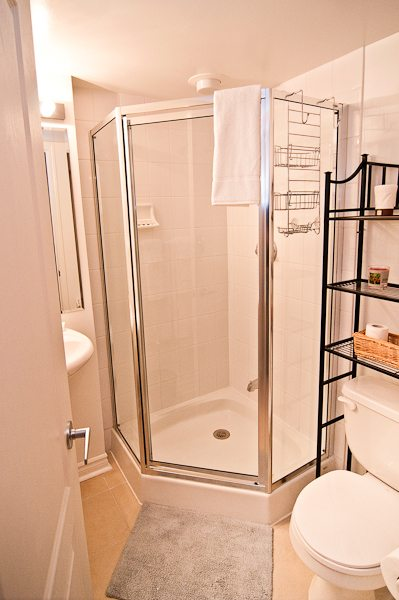 corporate rentals toronto empire bathroom with shower