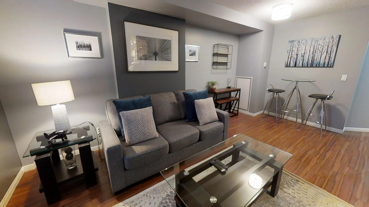furnished apartments toronto university plaza living room couch