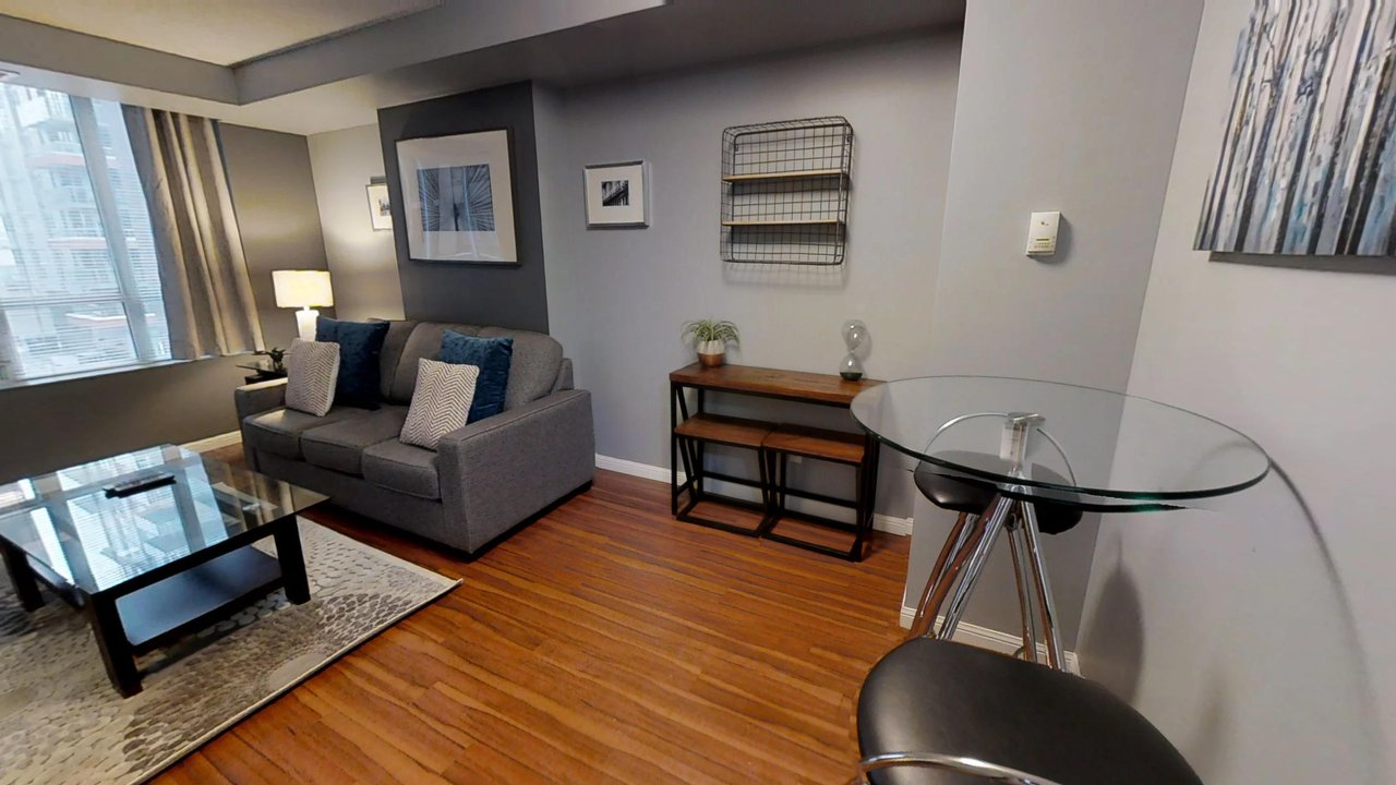 furnished apartments toronto university plaza couch coffee table