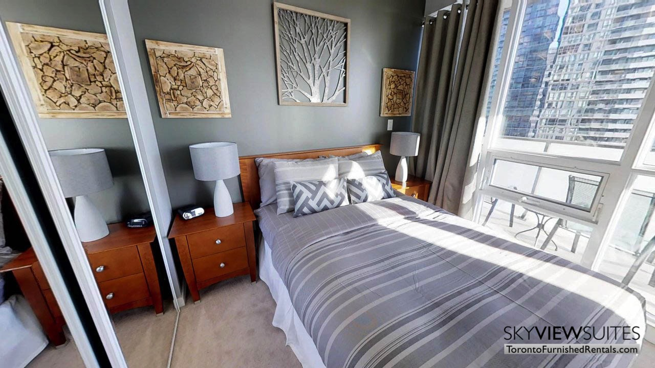 furnished rentals toronto Maple Leaf Square second bedroom