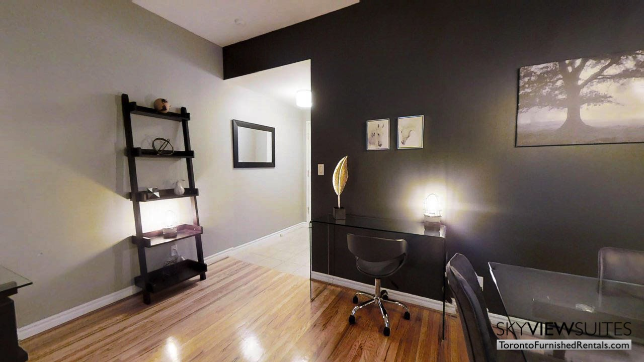 short term rentals toronto qwest living room office