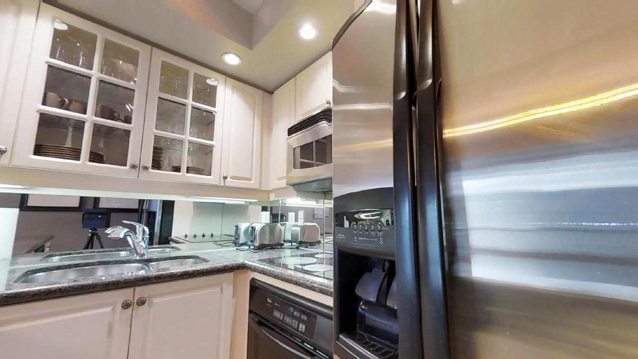 kitchen with furnishings near downtown toronto's financial district