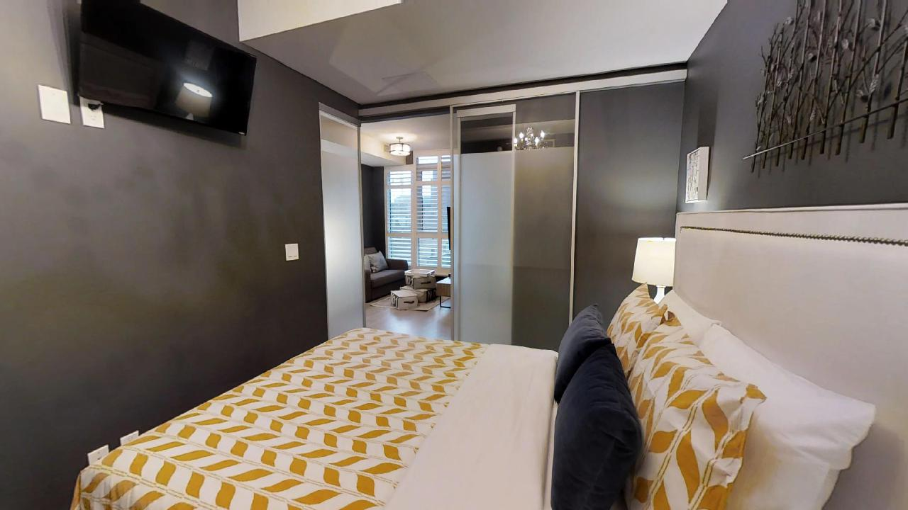 toronto's a bedroom in one of toronto's best furnished apartments