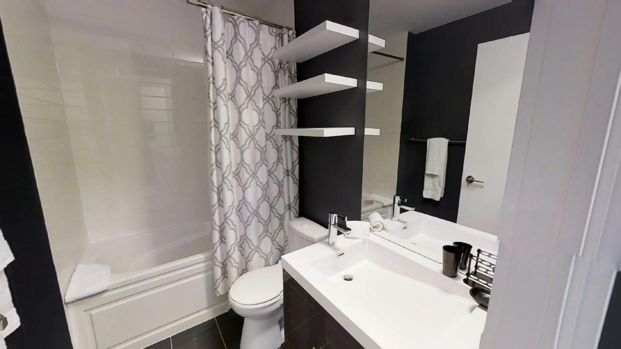 A toronto furnished apartment in downtown, near osgoode station.